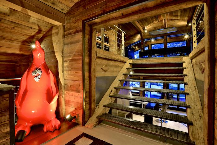Chalet Quezac – Escaliers