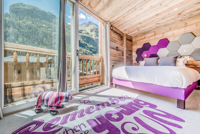 Chalet Rock And Love Alpinside architecte d'intérieur à Tignes Lazzaretti Mickael Meriguet World Ski Award Chalet