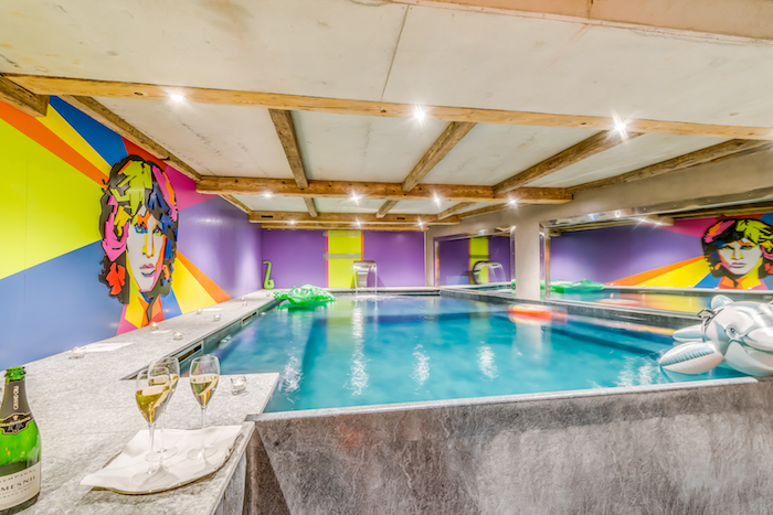 Chalet Rock And Love – Piscine