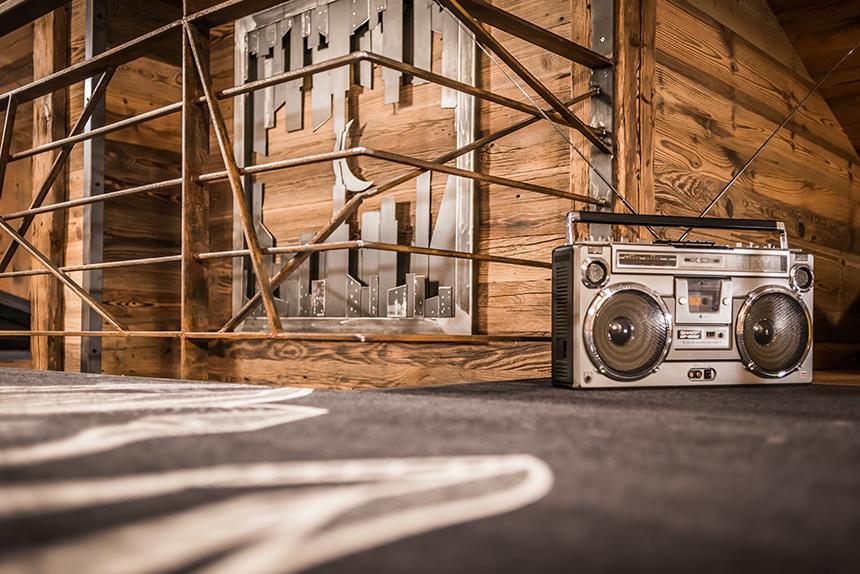 Chalet Banksy Tribute – Détente