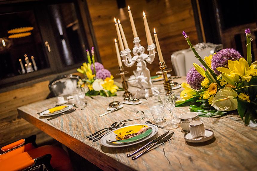 Chalet Banksy Tribute – Salle à manger