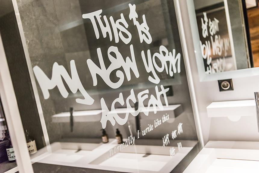 Chalet Banksy Tribute – Salle De Bain Chambre Yankee
