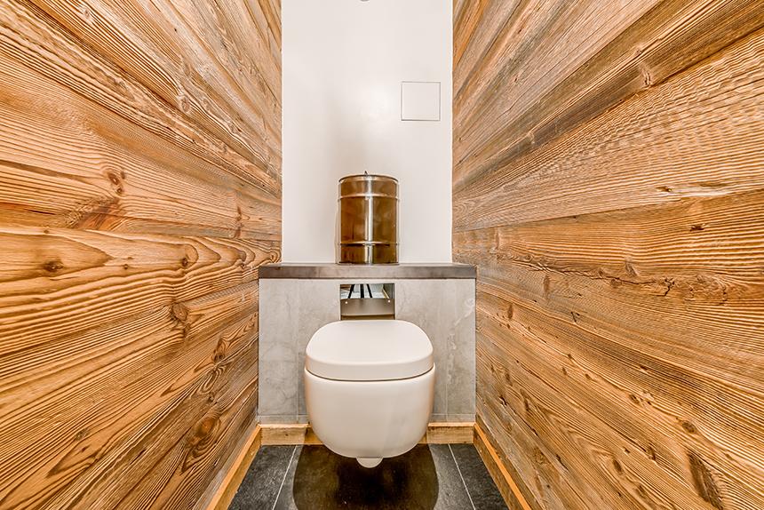 Chalet Banksy Tribute – Toilettes Chambre Yankee