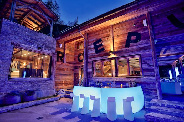 Chalet Quezac – Bar extérieur