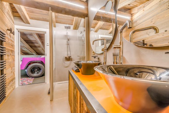 Chalet Rock and Love – Chambre enfants – Salle de bain