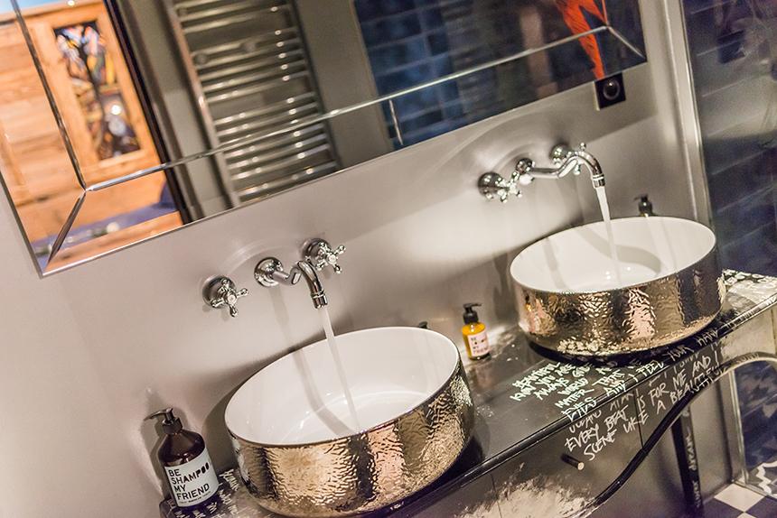 Chalet Banksy Tribute – Salle de bain Chambre Bristol