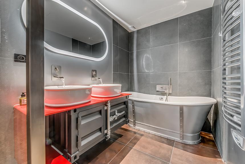 Chalet Banksy Tribute – Salle de bain Chambre Gdansk